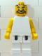 Minifig No: nba054  Name: NBA  Player White Torso, White Legs #5
