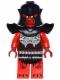 Minifig No: nex043  Name: Crust Smasher - Torso with Scaled Armor