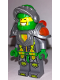 Minifig No: nex064  Name: Aaron - Flat Silver Visor, Clip on Back