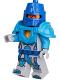 Minifig No: nex075  Name: King's Guard - Dark Azure Breastplate