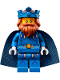 Minifig No: nex100  Name: King Halbert - Blue Crown and Robes