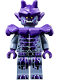 Minifig No: nex102  Name: Stone Stomper - Dark Purple Markings and Shoulder Armor