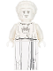 Minifig No: nex121  Name: White Stone Statue