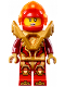 Minifig No: nex133  Name: Macy - Pearl Gold Armor