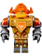 Minifig No: nex137  Name: Axl - Pearl Gold Torso