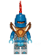 Minifig No: nex148  Name: Nexo Knight Soldier - Pearl Gold Armor