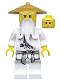 Minifig No: njo064  Name: Sensei Wu - Pearl Gold Hat