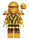 Minifig No: njo073  Name: Lloyd (Golden Ninja) - The Final Battle