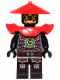 Minifig No: njo081  Name: Swordsman - Yellow Face Markings