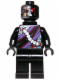 Minifig No: njo084  Name: Nindroid Drone with Neck Bracket