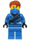Minifig No: njo089  Name: Jay (Techno Robe) - Rebooted