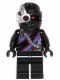 Minifig No: njo101  Name: Nindroid Warrior with Black Legs