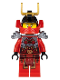 Minifig No: njo105  Name: Samurai X (Nya) - Rebooted