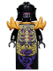 Minifig No: njo107  Name: Overlord (Golden Master) - Rebooted
