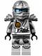 Minifig No: njo111  Name: Zane (Jungle Robe) - Tournament of Elements