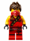 Minifig No: njo117  Name: Kai (Tournament Robe) - Tournament of Elements
