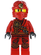 Minifig No: njo121  Name: Kai (Jungle Robe) - Tournament of Elements, Scabbard