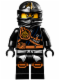 Minifig No: njo124  Name: Cole (Jungle Robe) - Tournament of Elements