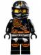 Minifig No: njo124  Name: Cole (Jungle Robe) - Tournament of Elements