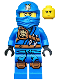 Minifig No: njo128  Name: Jay (Jungle Robe) - Tournament of Elements