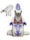 Minifig No: njo131  Name: Pythor P. Chumsworth (White) - Tournament of Elements