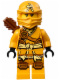 Minifig No: njo135  Name: Skylor (Jungle Robe) - Tournament of Elements