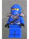 Minifig No: njo162  Name: Jay - Rebooted with Silver Armor