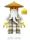 Minifig No: njo168  Name: Sensei Wu (Gold and Tan Robe)