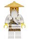 Minifig No: njo180  Name: Sensei Wu - Gold Trimmed Outfit (Secret World of the Ninja Book)
