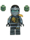 Minifig No: njo201  Name: Cole - Skybound, Ghost, Head Wrap