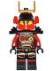 Minifig No: njo229  Name: Samurai X (Nya) - Black Outfit