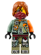 Minifig No: njo246  Name: Ronin - Hair, Scabbard