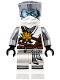 Minifig No: njo266  Name: Zane (Honor Robe) - Day of the Departed, Hair and White Mask