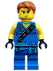Minifig No: njo272  Name: Jay (Tournament Robe) - Tournament of Elements