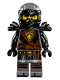 Minifig No: njo280  Name: Cole - Hands of Time, Black Armor
