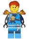 Minifig No: njo287  Name: Jay (Honor Robe) - Day of the Departed, Hair and Pearl Gold Shoulder Armor