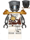 Minifig No: njo306  Name: Zane (Honor Robe) - Day of the Departed, Hair and Pearl Gold Shoulder Armor