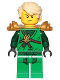 Minifig No: njo307  Name: Lloyd (Honor Robe) - Day of the Departed, Hair and Pearl Gold Shoulder Armor