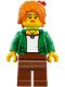 Minifig No: njo340  Name: Misako (Koko) - The LEGO Ninjago Movie