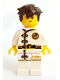 Minifig No: njo348  Name: Jay - White Wu-Cru Training Gi