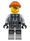 Minifig No: njo356  Name: Shark Army Thug - Large Knee Plates