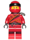 Minifig No: njo391a  Name: Kai - Sons of Garmadon (without Asian Symbol on Wrap)