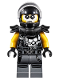 Minifig No: njo399  Name: Chopper Maroon (Helmet and Shoulder Pads)
