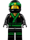 Minifig No: njo432  Name: Lloyd - The LEGO Ninjago Movie, No Arm Printing