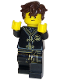 Minifig No: njo448  Name: Jay - Dark Brown Hair