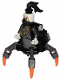 Minifig No: njo468a  Name: Daddy No Legs - Black Round Tiles