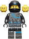 Minifig No: njo475  Name: Nya - Hunted, Crooked Smile / Scowl