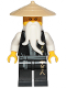 Minifig No: njo495  Name: Sensei Wu (Black Robe) - Legacy