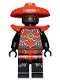 Minifig No: njo507  Name: Stone Army Scout with Shoulder Armor (Legacy)