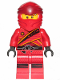Minifig No: njo513  Name: Kai - Legacy, Sons of Garmadon Robe